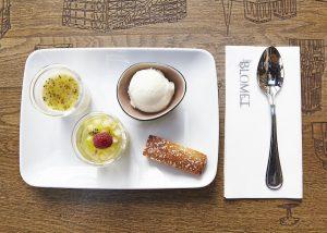Dessert Le Blomet restaurant Paris 15
