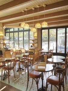 salle intérieur Le Blomet Paris15