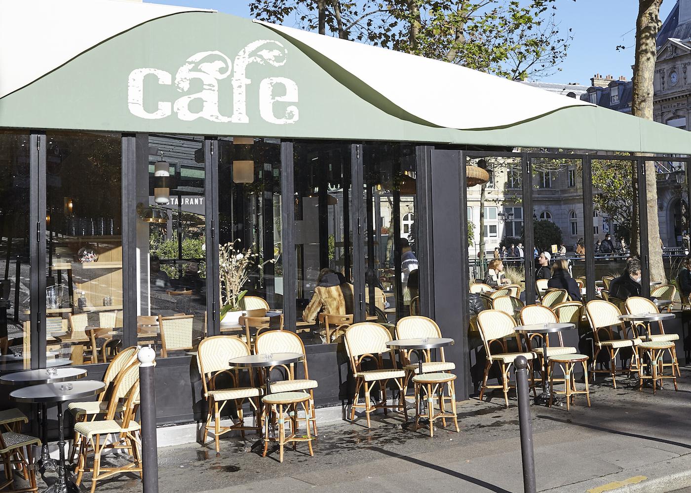 Terrasse Le Blomet restaurant Paris 15